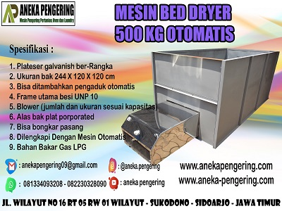 box dryer, bed dryer, mesin box dryer