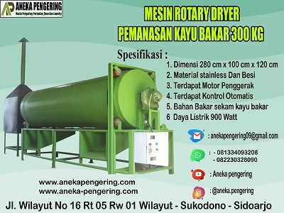 rotary, rotary dryer, mesin rotary dryer